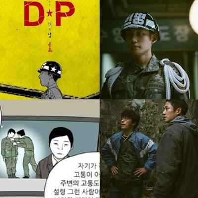webtoon d.p