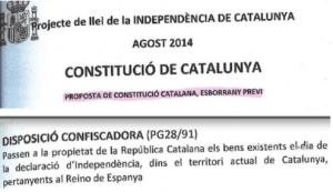 "La ""Constitució Catalana"" que tenía preparada la Generalitat: lea y tiemble"