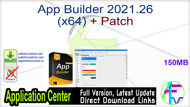 App Builder 2021.26 (x64) + Patch