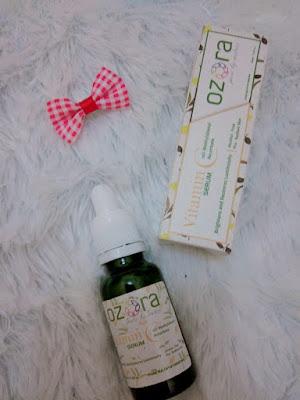 Pengalaman Menggunakan Ozora Vitamin C Serum