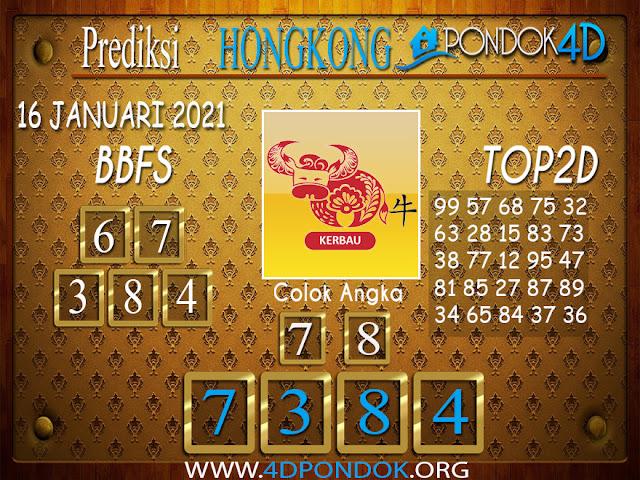Prediksi Togel HONGKONG PONDOK4D 16 JANUARI 2021