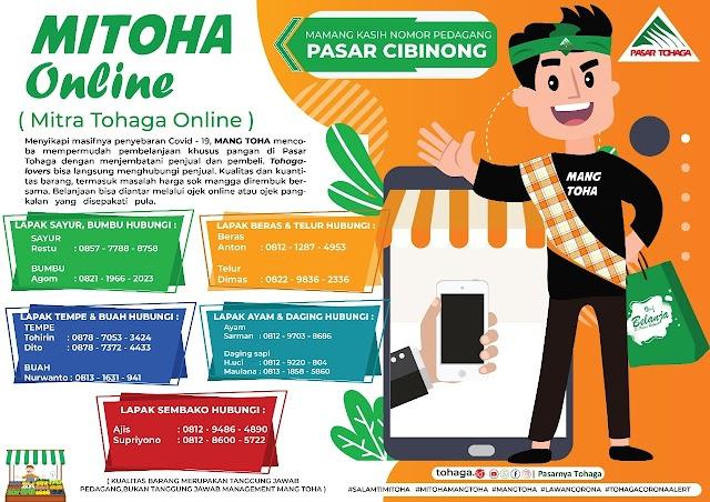 Di Rumah Aja, Belanja Pasar di Bogor Bisa Online