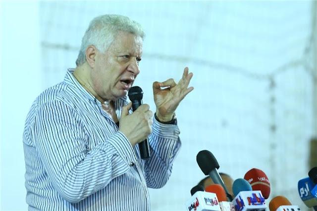 مرتضى منصور يتدخل لحل أزمة لاعبي الفريق