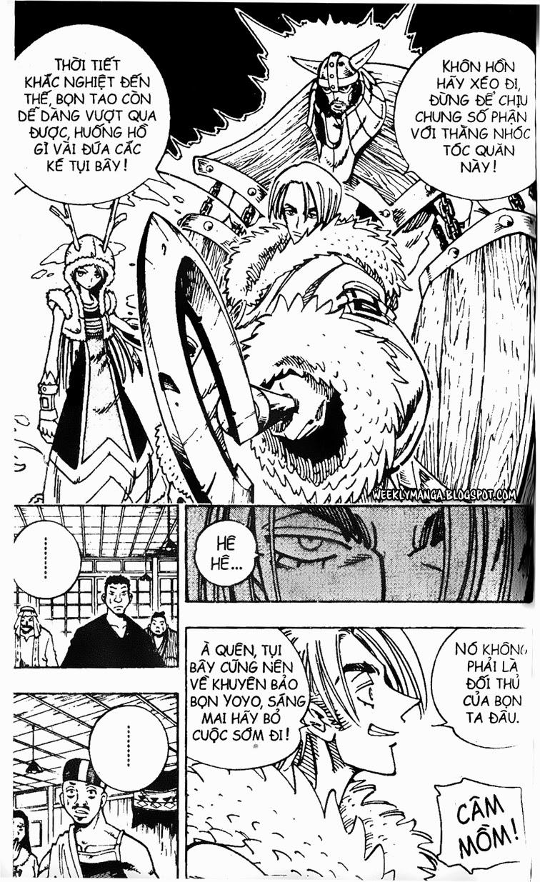 Shaman King [Vua pháp thuật] chap 127 trang 20