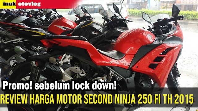 ninja 250 fi tahun 2015 bekas semarang