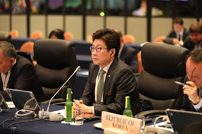 Korean Environment Minister Cho Myung-rae