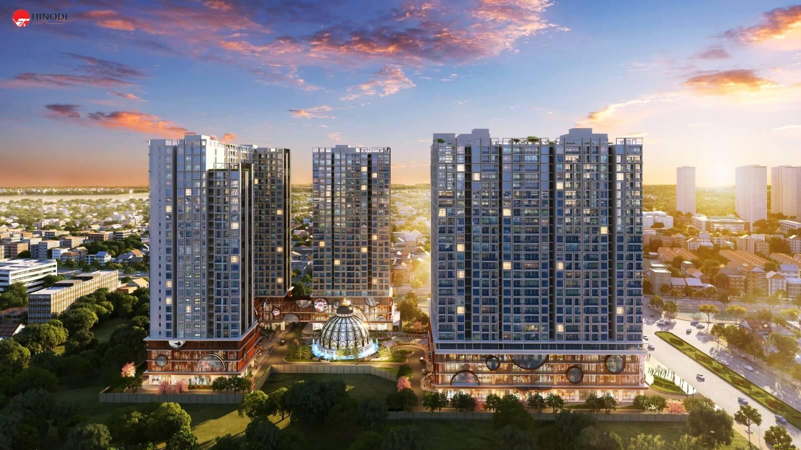 Hinode City tâm điểm sáng bất động sản trung tâm Hà Nội