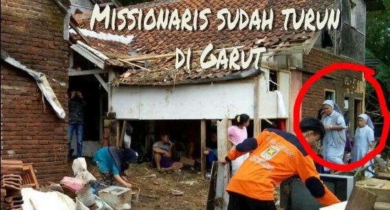 Bantuan Biarawati Disebut Kristenisasi Menuai Sindiran Netizen