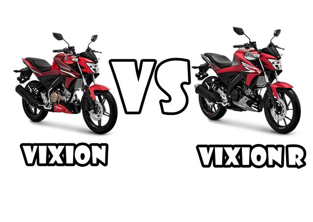 Perbedaan dan Perbandingan Yamaha Vixion dan Vixion R