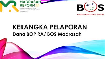 PERHATIKAN! Download format LPJ BOS Madrasah Tahun 2021