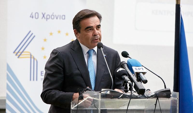 Κεντρικός ομιλητής σε εκδήλωση της Περιφέρειας ΑΜ-Θ ο Αντιπρόεδρος της Ευρωπαϊκής Επιτροπής Μαργαρίτης Σχοινάς