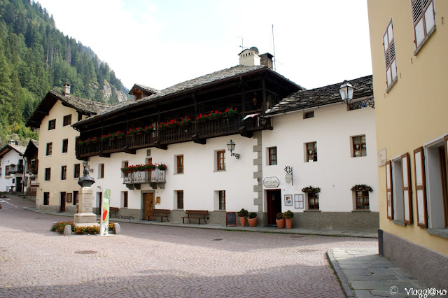 Edifici Walser di Gressoney Saint Jean