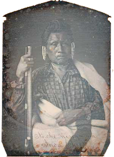No-Che-Ninga-An, Chief of the Iowas, 1845