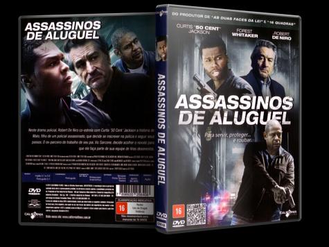 Capa DVD Assassinos de Aluguel
