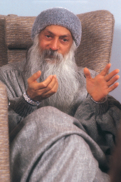 Neither suppression nor prohibition but Jagran Osho