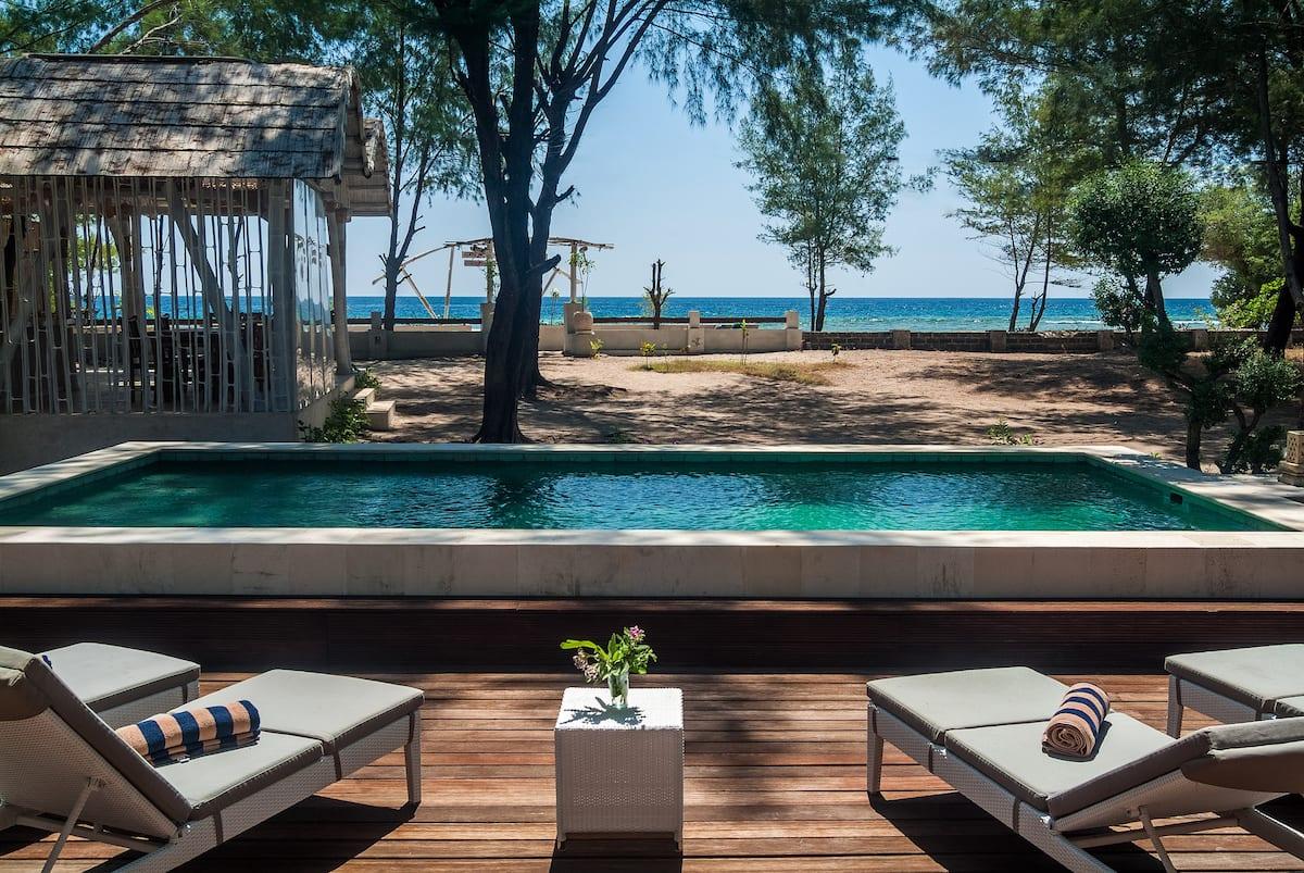 villa airbnb di gili trawangan