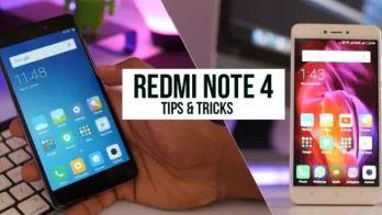 Trik Tersembunyi di Xiaomi Redmi Note 4