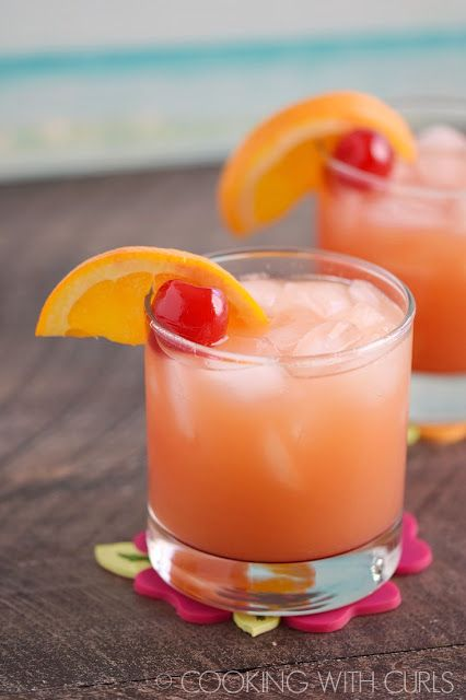 Caribbean Rum Punch Cocktail Recipe