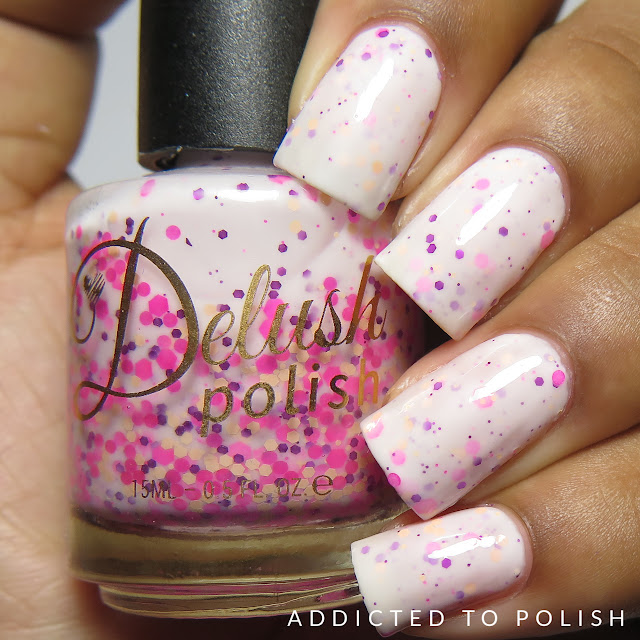 Delush Polish I Like Big Buns and I Cannoli Lie High and Mightea Swatches