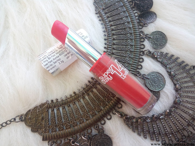 Maybelline Super Stay 14 Hr Non Stop Red (510) Lipstick Review
