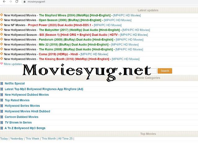 Moviesyug Tamil, Telugu, Bollywood dubbed