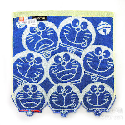 日本限定哆啦a夢卡通圖案方巾