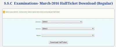 AP SSC Hall Tickets bseap.org March 2019