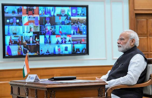 सभी राज्यों के मुख्यमंत्रियों के साथ 27 April को विडियो कॉन्फ्रेंसिंग करेंगे PM Modi