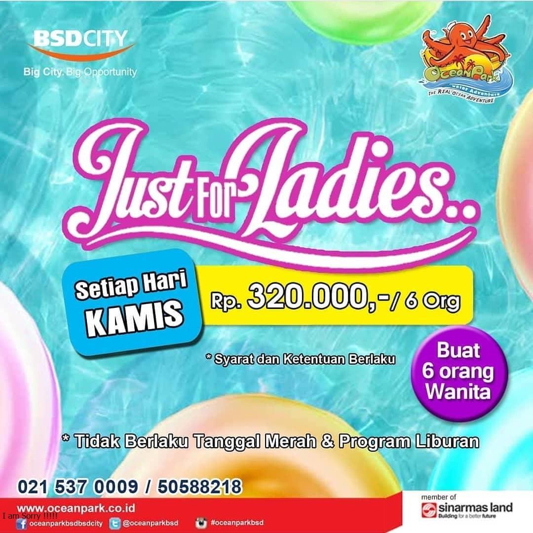 Promo Harga Tiket Masuk Ocean Park BSD City