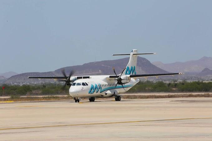 Vuelo a La Paz de Aeromar desde Guadalajara con escala en Mazatlán