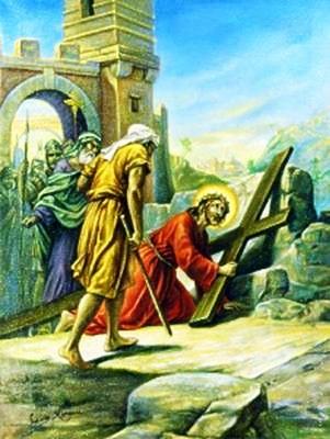 Viacrucis 3 - Jesus Cae Por Primera Vez