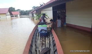 Banjir di Kasongan