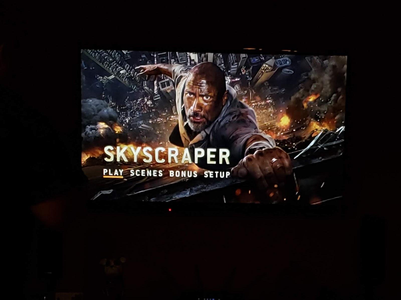 Skyscraper the movie
