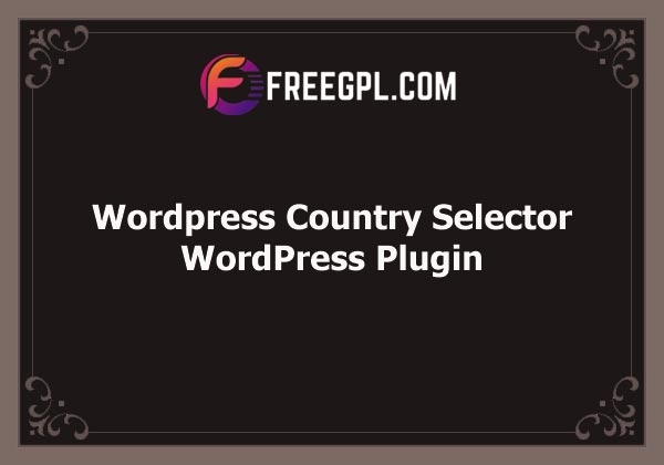 WordPress Country Selector Free Download
