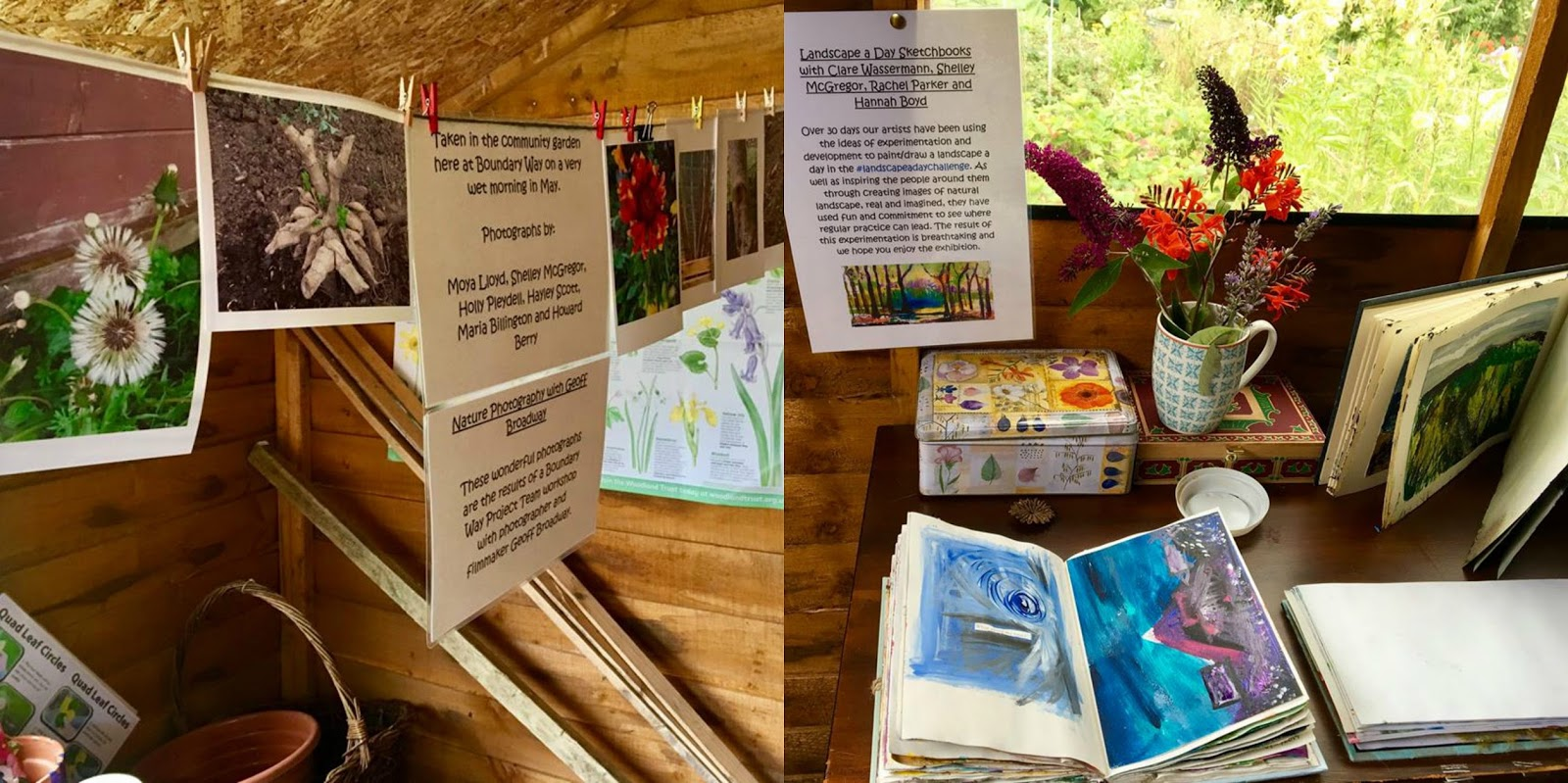Photographs by Team and Sketchbooks by Visiting Artists