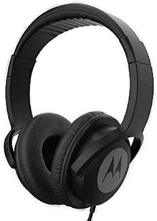 6. Motorola Pulse 100 Over-Ear Wired Headphones