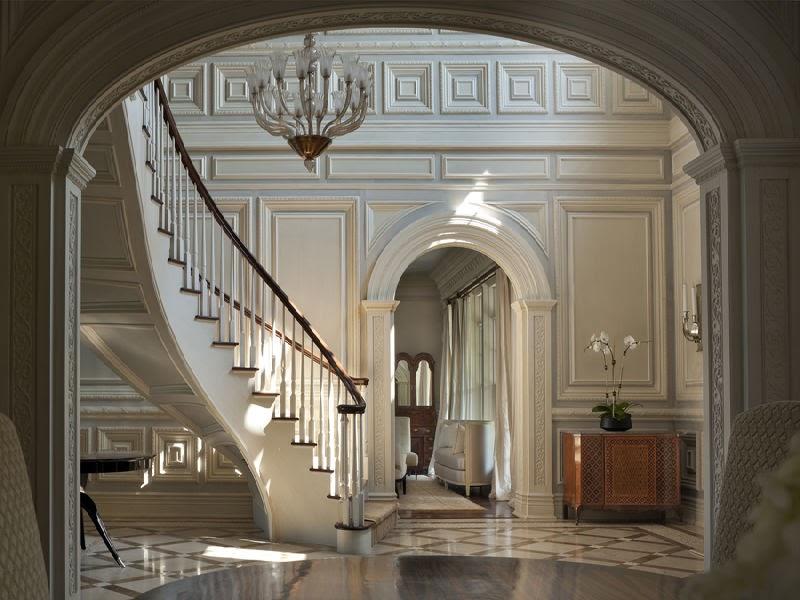 Victorian Gothic Style Mansion Interior