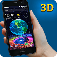 Earth in Space 3D Theme Apk free Download for Android