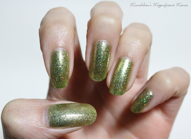 KBShimmer Birthstone Collection Peridot