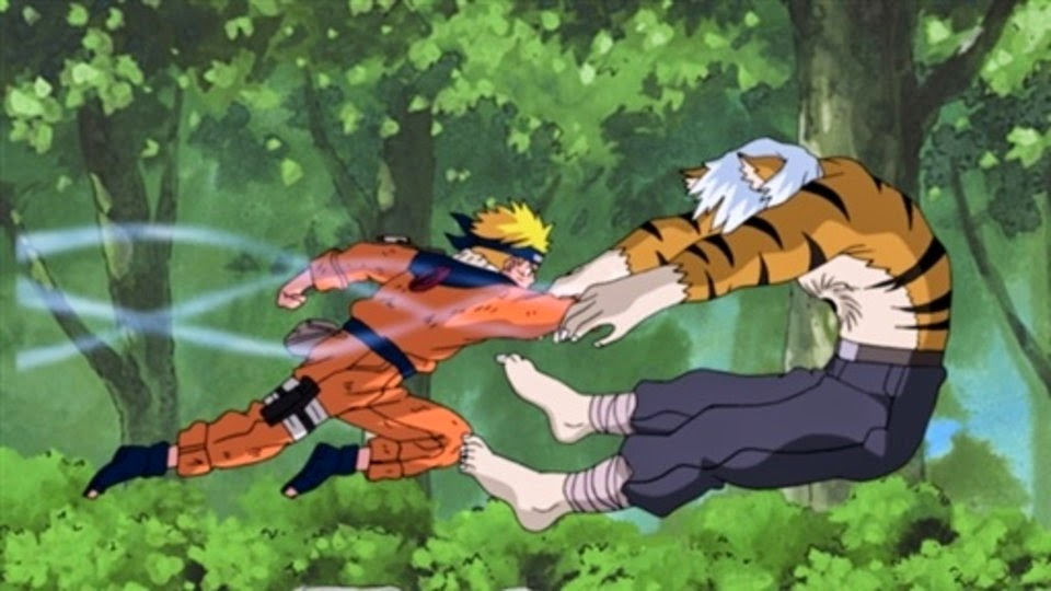 Naruto vs Mizuki