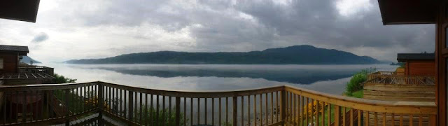 Loch Ness Holiday Lodges and Invermoriston Falls.