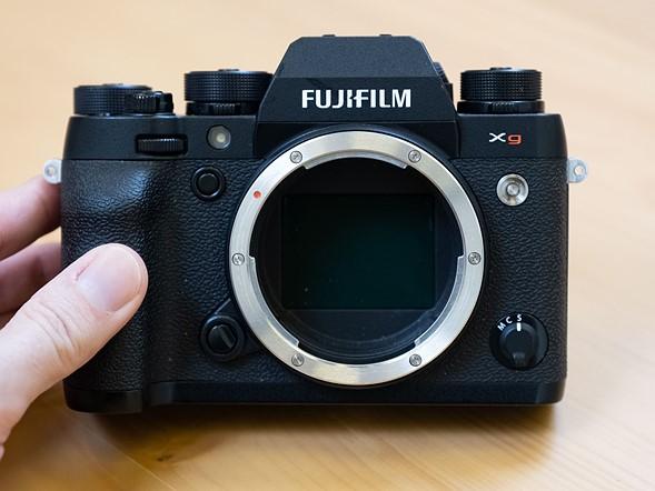 Прототип среднеформатной камеры Fujifilm Xg