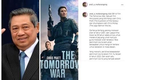 SBY Muncul di Film Hollywood The Tomorrow War, Auto Bikin Heboh!