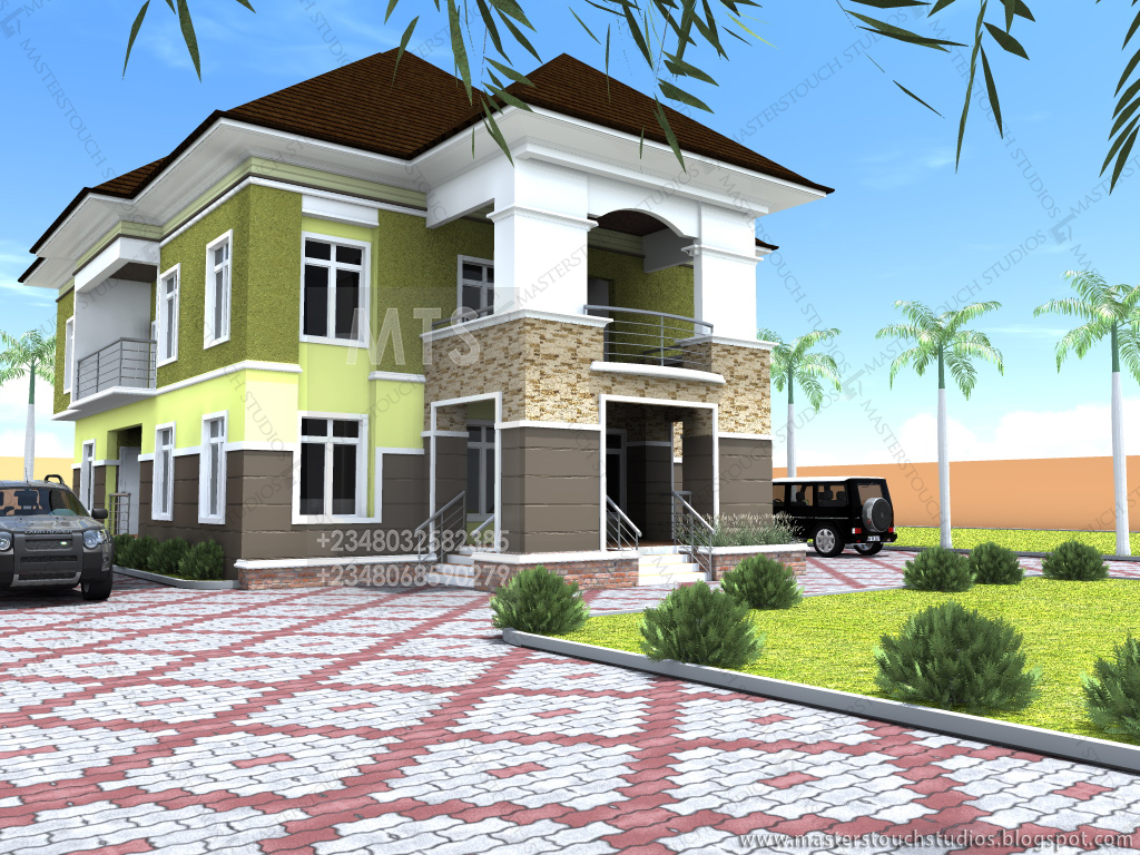 Mrs udeeme 5 bedroom duplex residential homes and for Duplex bed