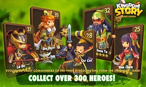 Game Kingdom Story Brave Legion Apk Mod Money