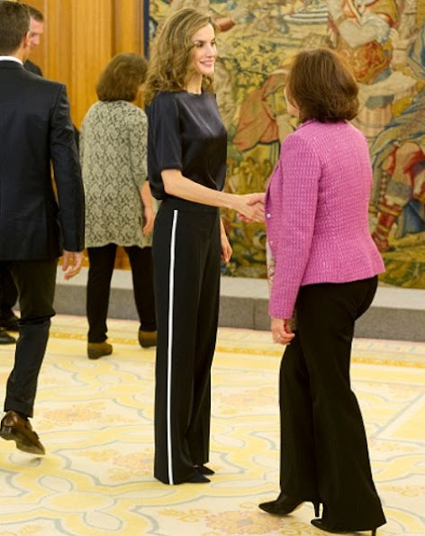 Queen Letizia style Jewels, MANGO Faceted Crystal Earring