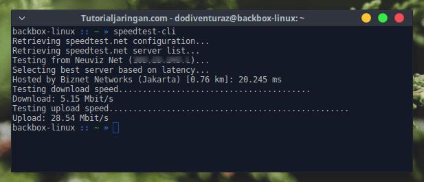 Cara Speedtest di Linux Melalui Terminal