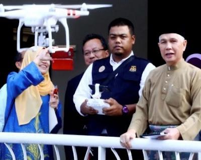 Melaka Negeri Pertama di Malaysia Guna Dron Buru Nyamuk