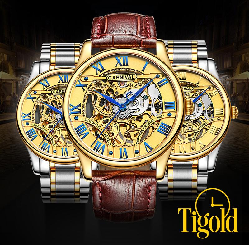 đồng hồ đeo tay nam carnival giá rẻ