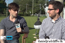 Updated: MTV Rough Cut: Daniel Radcliffe talks about The F Word, clears up rumors about Pinocchio